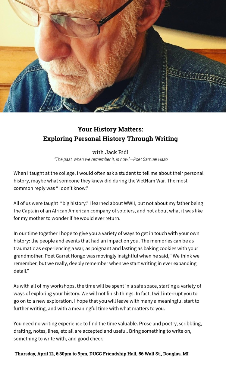 Jack Personal History Workshop